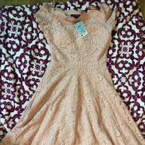 High low off the shoulder dress